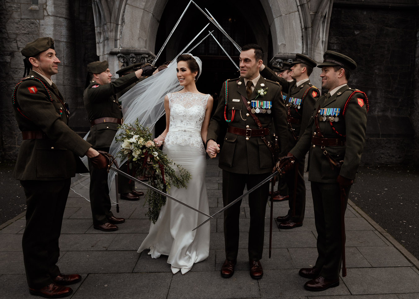 military wedding ireland