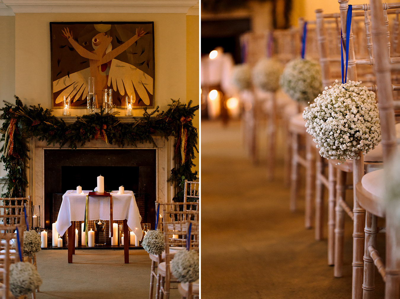 Ballymaloe wedding ceremony