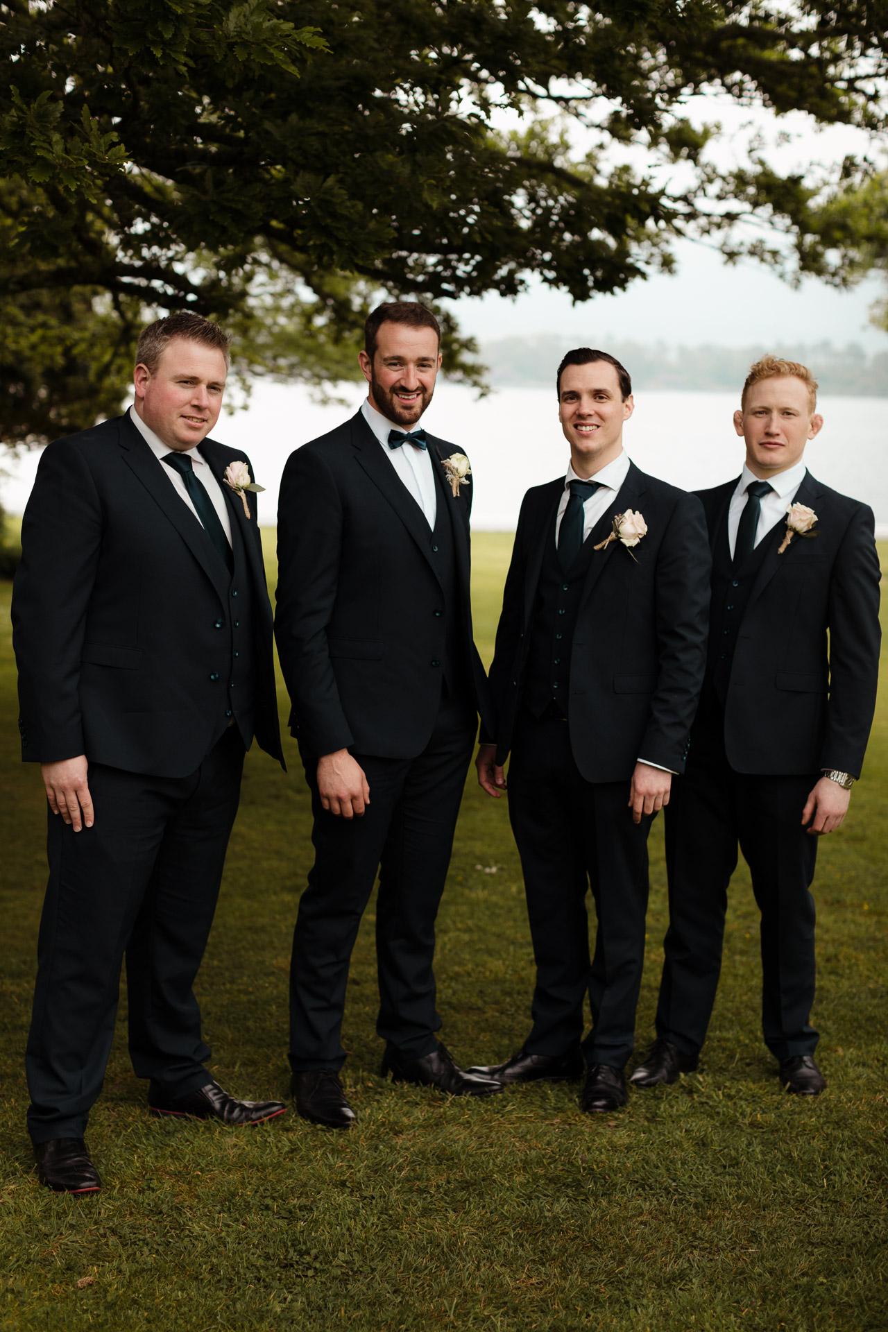blacktie groomsmen