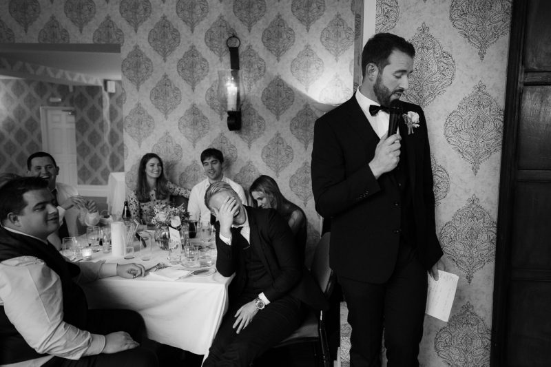 Dromquinna manor wedding speeches