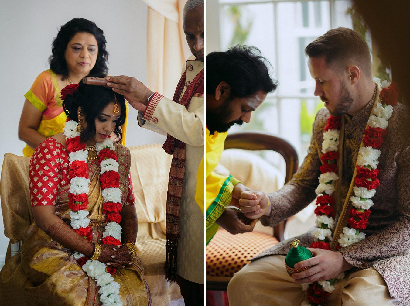 Hindu ceremony in Ireland