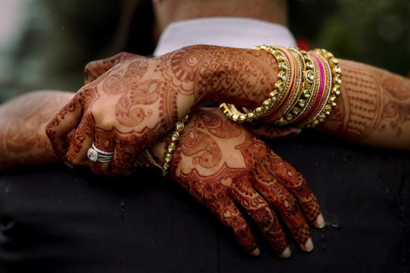 indian wedding henna