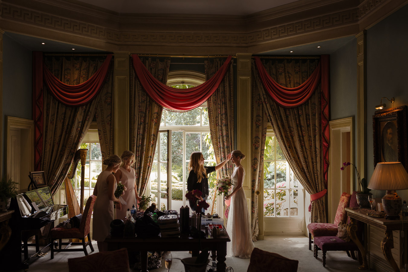 Marlfield house wedding-