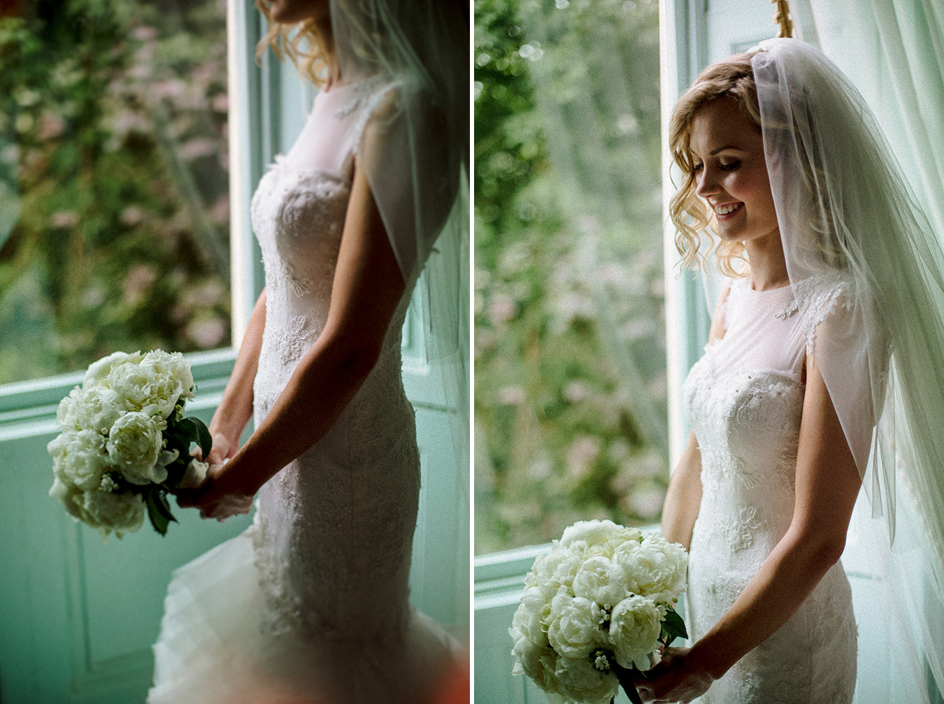 alternative bride portrait
