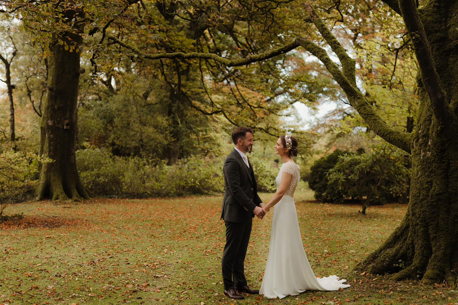 ballyvolane house autumn wedding