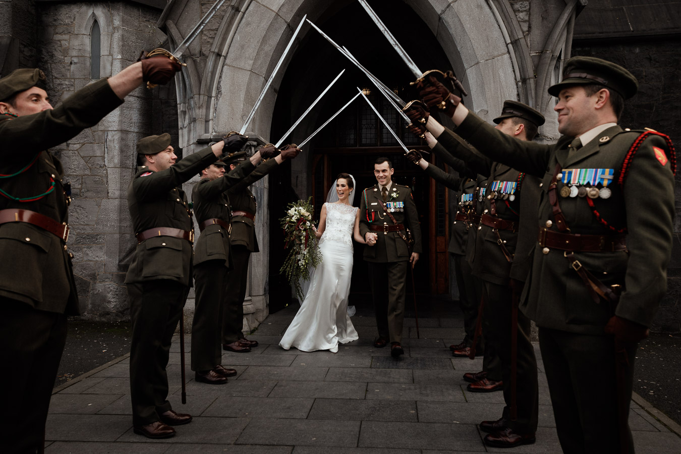 military wedding ireland