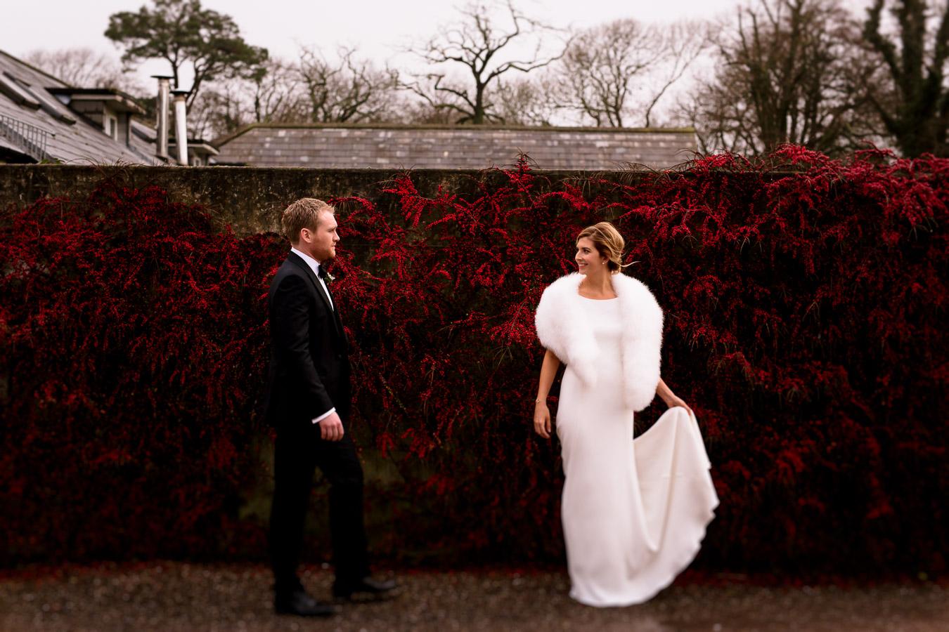red holly wedding