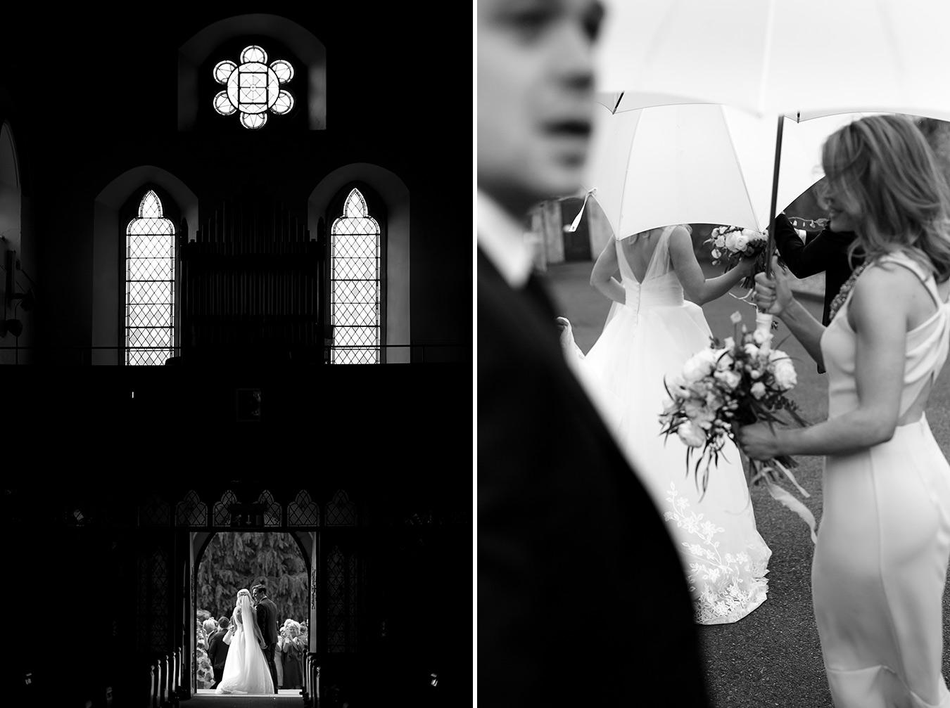 wedding silhoutte