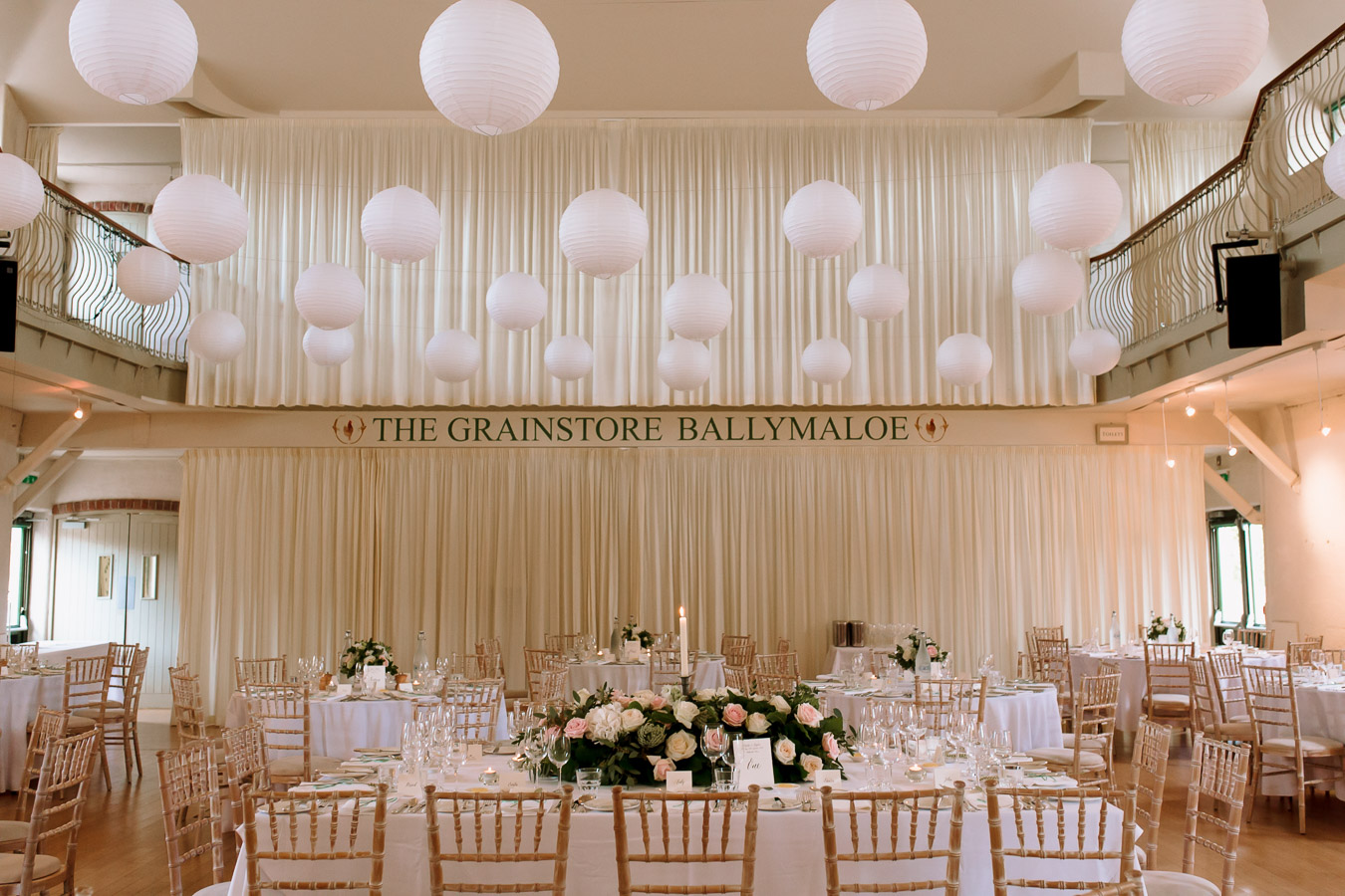 Grainstore Ballymaloe wedding