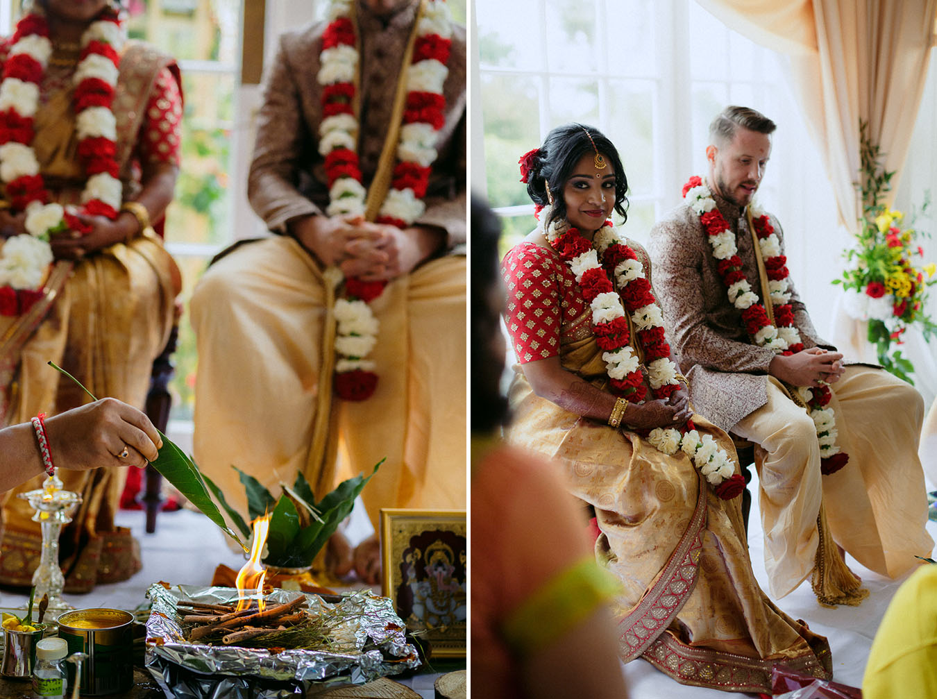Hindu ceremony in Ireland