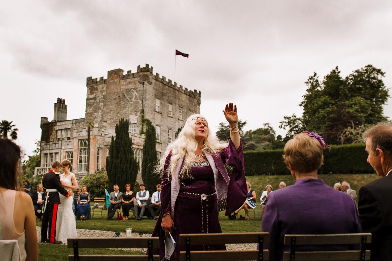huntington castle wedding photographer