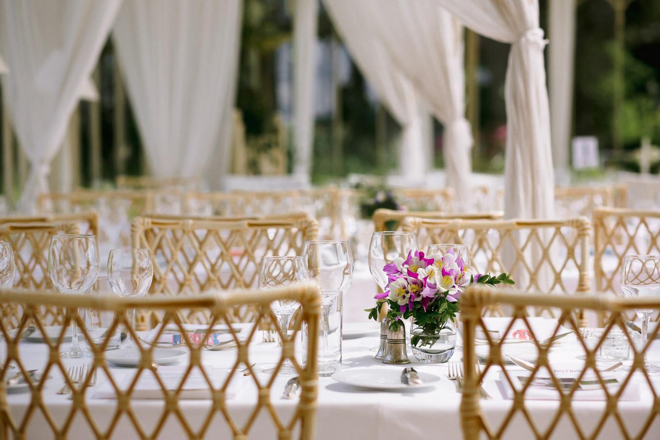 longueville house dinner table