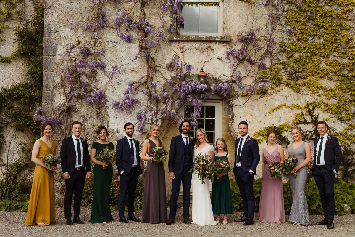 bridal party colour inspiration