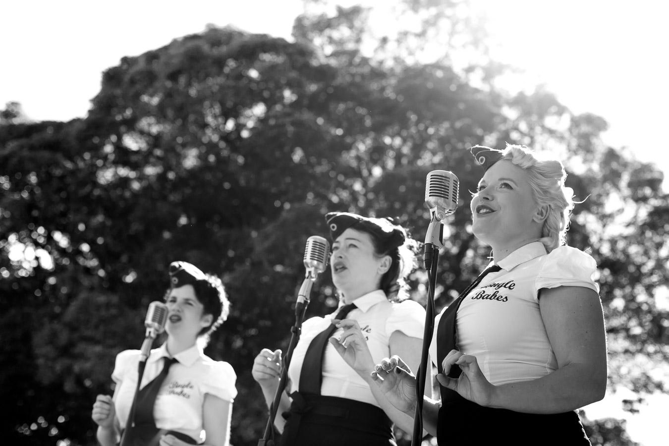 bugle babes wedding band