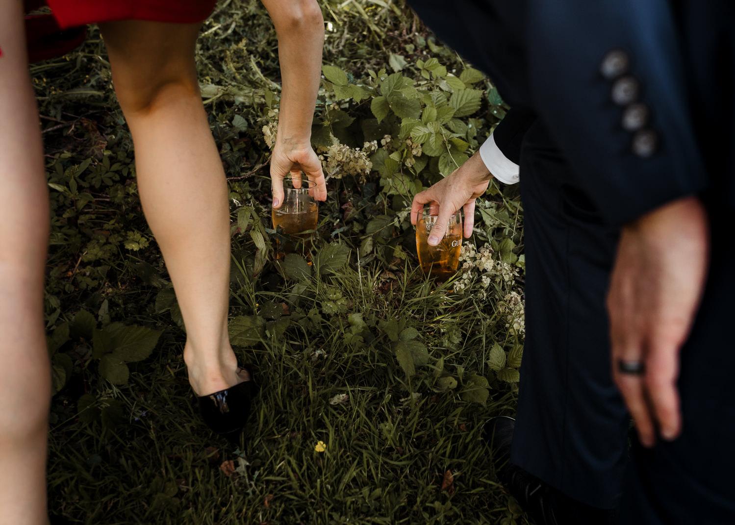 alternative wedding photographer ireland