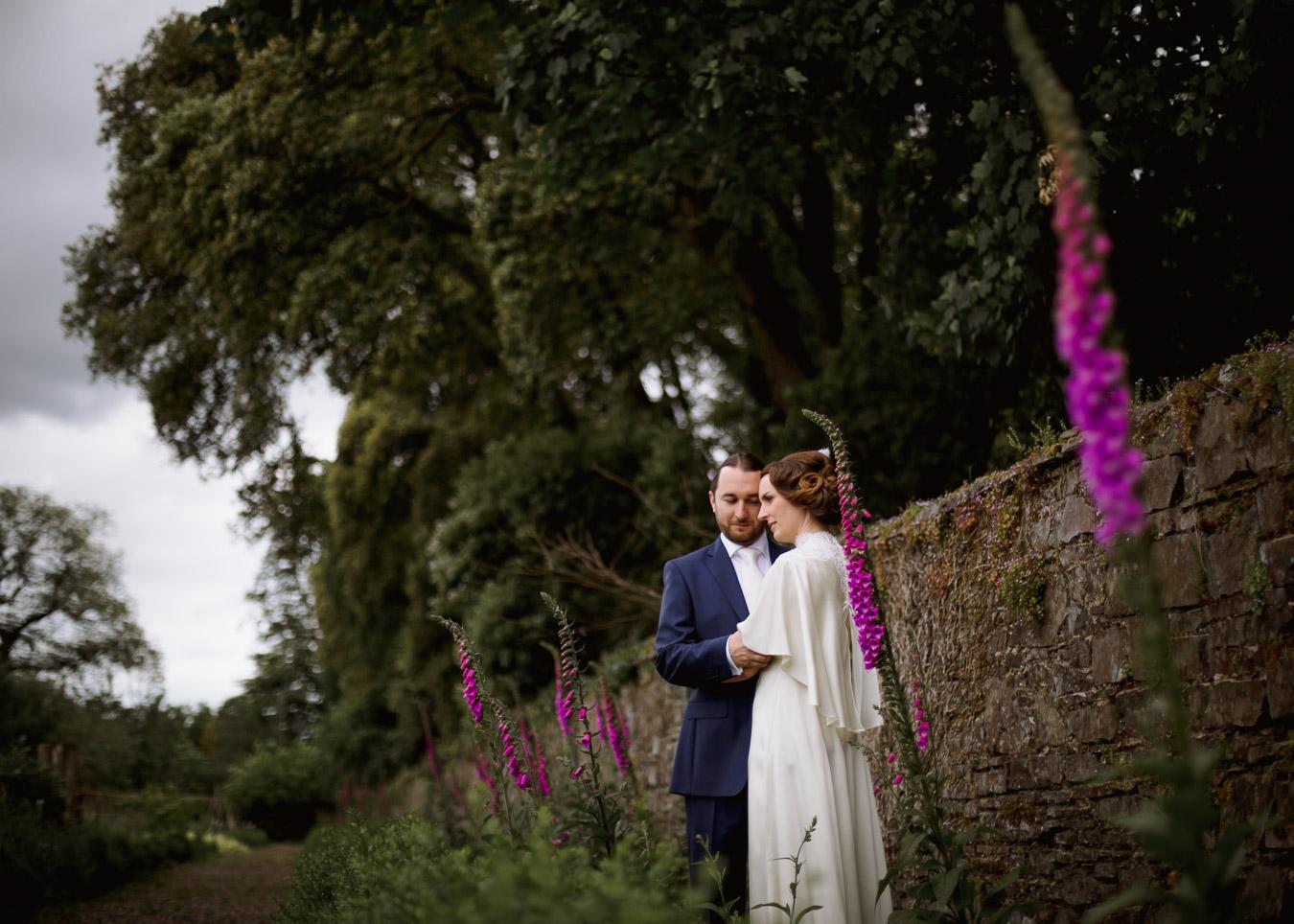 foxglove vintage wedding