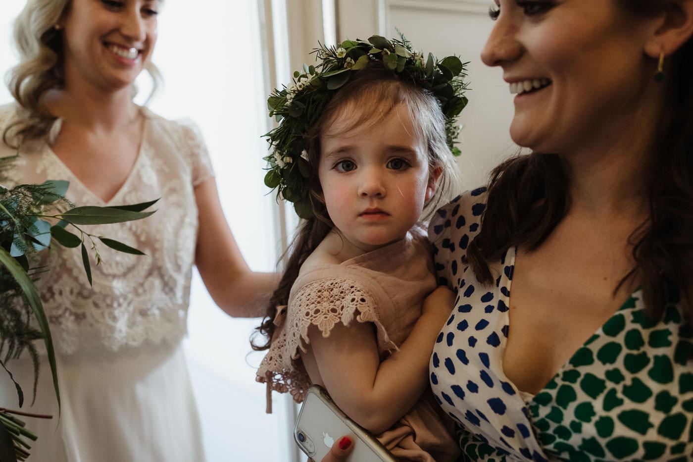 flowergirl flowercrown