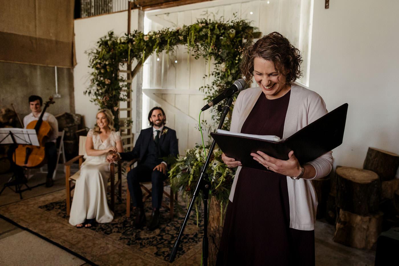 romy mcauley wedding celebrant