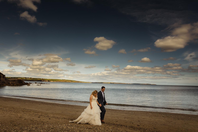 west cork beach wedding